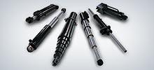 Gängige Hydraulikzylindertypen