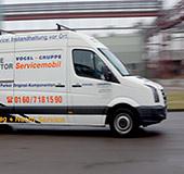 Servicemobil für einen 24h-Hydraulik-Service