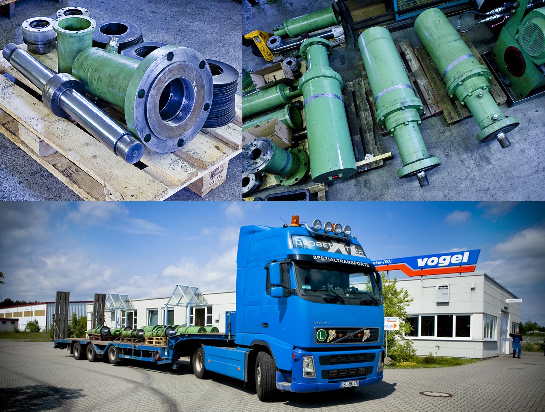 Etwas Neues genug Hydraulikzylinder Reparatur durch kompetente Hydraulik-Spezialisten #NR_04